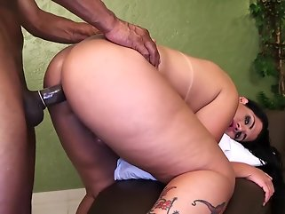 big tits guy fucks shemale