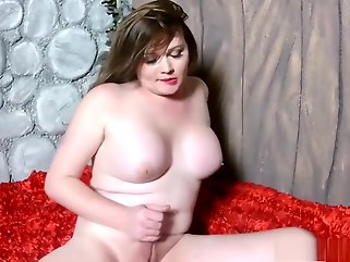 big tits solo shemale